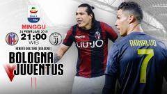 Indosport - Pertandingan Bologna vs Juventus.