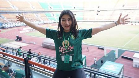 Masayu Maya, pendukung cantik Persebaya Surabaya - INDOSPORT