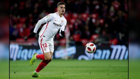 Andre Silva, striker Sevilla. - INDOSPORT