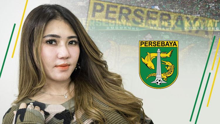 Juga Via Vallen, 4 artis Indonesia ini adalah pendukung Persebaya Surabaya Copyright: INDOSPORT