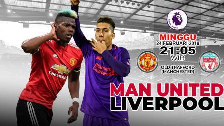 Pertandingan Man United VS Liverpool - INDOSPORT