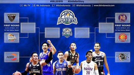 Jadwal IBL Playoffs. - INDOSPORT