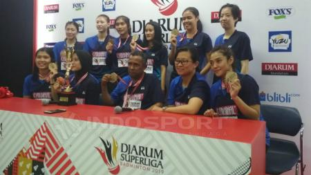 Tim putri Mutiara Cardinal. - INDOSPORT