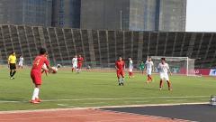 Indosport - Vietnam U22 vs Indonesia U22.