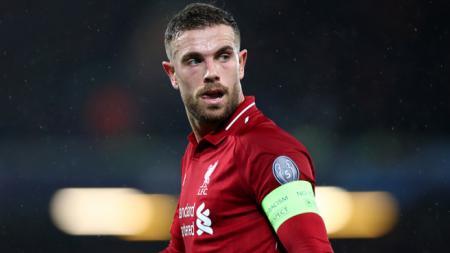 Gelandang Liverpool, Jordan Henderson. - INDOSPORT