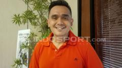 Indosport - Presenter sepak bola, Valentino Simanjuntak