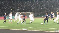 Indosport - Semifinal Piala AFF U-22: Kamboja vs Thailand