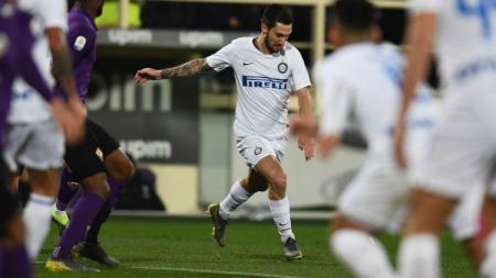 Matteo Politano berharap Inter Milan bisa meraih kemenangan di laga selanjutnya usai ditahan imbang Atalanta. - INDOSPORT