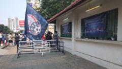 Indosport - Loket tempat pembelia tiket di Stadion Olimpiade Phnom Penh