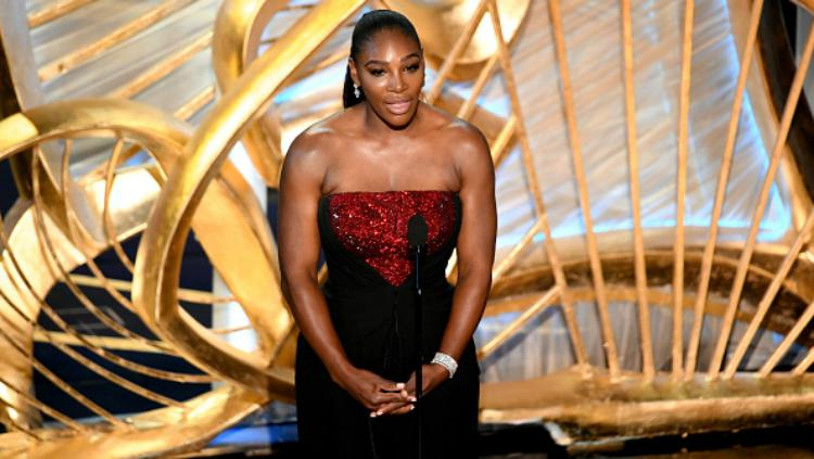 Petenis Serena Williams di Oscar 2019. Copyright: INDOSPORT