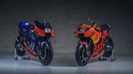 Motor Red Bull KTM dan tim satelit Red Bull KTM Tech 3 - INDOSPORT