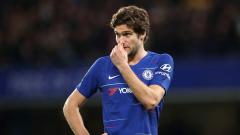 Indosport - Pemain Chelsea, Marcos Alonso.