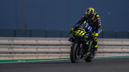 Valentino Rossi ternyata bisa menjadi inspirasi seorang pembalap rookie di Formula 1. - INDOSPORT