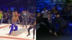 Indosport - Turnamen MMA di Brasil berakhir ricuh