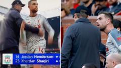 Indosport - Jurgen Klopp dan Jordan Henderson.