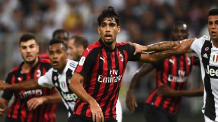 Gelandang kreatif klub Serie A AC Milan, Lucas Paqueta dikabarkan ingin meninggalkan San Siro demi menghidupkan kembali kariernya. - INDOSPORT