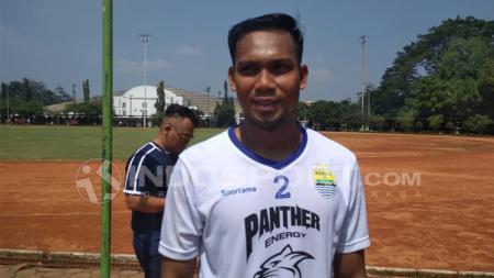 Pemain anyar Persib Bandung, Saepulloh Maulana. - INDOSPORT