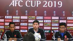 Indosport - Jumpa pers jelang laga Home United vs PSM Makassar