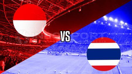 Indonesia vs Thailand - INDOSPORT