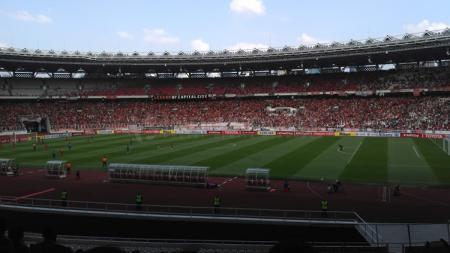 Klub sepak bola Persija Jakarta mencoba merangkul para fans meski di tengah pandemi, yakni dengan mengadakan turnamen eSports Pro Evolution Soccer (PES). - INDOSPORT