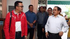 Indosport - Menpora Imam Nahrawi akan mendukung langsung Timnas U-22 di final Piala AFF, saat ini Menpora telah tiba di Kamboja