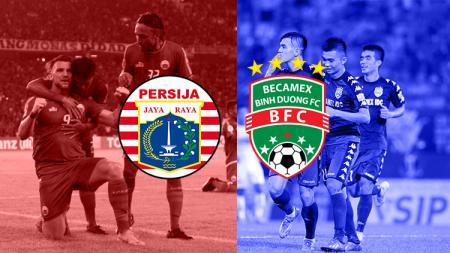 Persija Jakarta vs Becamex Binh Duong - INDOSPORT