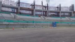 Indosport - Progres renovasi Stadion Manahan.