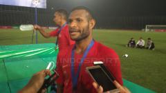 Indosport - Top skor Piala AFF U-22 Marinus Wanewar