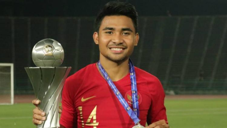Asnawi Mangkualam, salah satu pemain penting saat Timnas Indonesia U-22 juara Piala AFF U-22 2019. Copyright: https://www.instagram.com/asnawi.bhr/