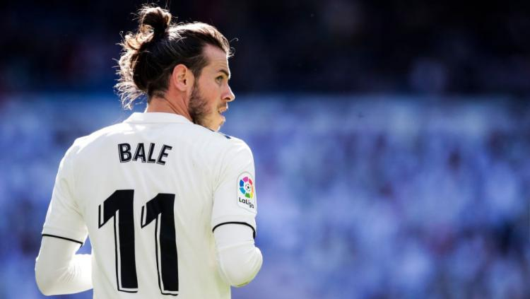 Pemain Real Madrid, Gareth Bale. Copyright: Indosport.com