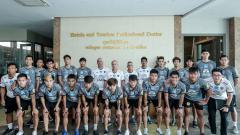 Indosport - Timnas Thailand U-22.
