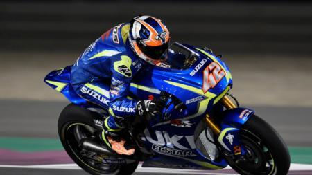 Pembalap Suzuki, Alex Rins - INDOSPORT