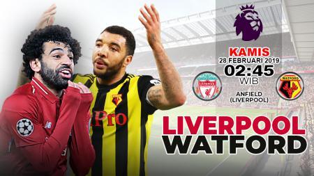 Prediksi Liverpool vs Watford. - INDOSPORT