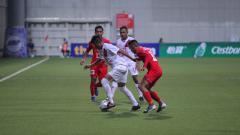 Indosport - Home United vs PSM Makassar.