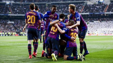 Barcelona dipastikan bakal alami mimpi terburuk sepanjang karier klub sepak bola mereka di LaLiga Spanyol musim depan. - INDOSPORT