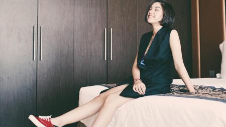 Vanesha Prescilla bintang film Dilan - INDOSPORT