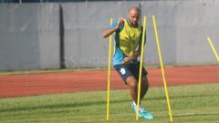Indosport - Claudir Junior Marini jalani latihan bersama PSIS Semarang
