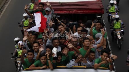 Kemenangan Timnas Indonesia U-22 di Piala AFF U-22 2019 menuai kebanggan bagi masyarakat Indonesia.