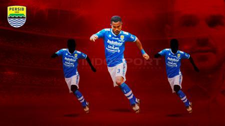 Tiga wakil Persib Bandung yang layak masuk Timnas Senior, diantaranya Ardi Idrus - INDOSPORT