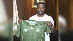 Indosport - Pemain asing anyar Tira-Persikabo Louis Essengue Eloumu Parfait.