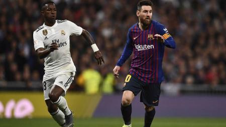 Menurut Jordi Alba, Messi tak pantas dibandingkan dengan Vinicus - INDOSPORT