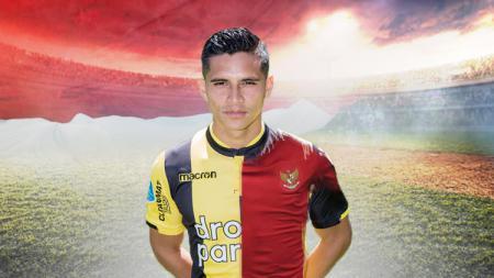 Calon pemain naturalisasi Timnas Indonesia Navarone Foor nyatanya pernah mempermalukan bek klub Liga 1 2020 Persib Bandung. - INDOSPORT