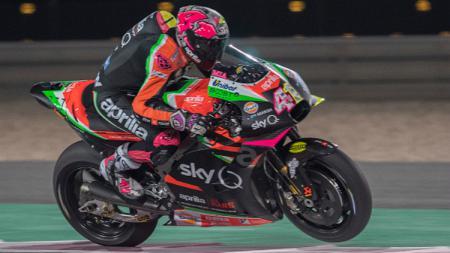 Aleix Espargaro dari tim Aprilia Gresini Racing. - INDOSPORT