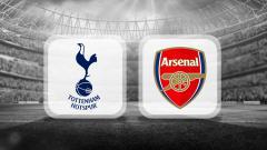 Indosport - Logo Tottenham Hotspur vs Arsenal