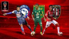 Indosport - Mengenang Piala Presiden 2018, para juara grup yang tidak menjuarai kompetisi