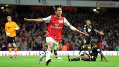 Indosport - Park Chu Young Saat Merayakan Golnya