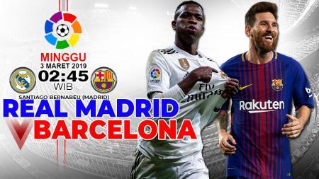Prediksi pertandingan Real Madrid vs Barcelona - INDOSPORT