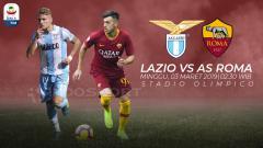 Indosport - Prediksi Lazio vs AS Roma