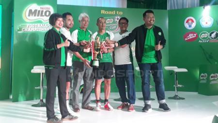 Acara jumpa pers kick-off MILO Football Championship 2019 - INDOSPORT
