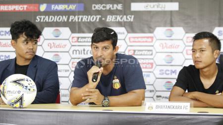 Pelatih Bhayangkara FC, Alvredo Vera. - INDOSPORT